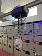 <b>我司轨道巡检机器人在无人值守变电站成功应用</b>